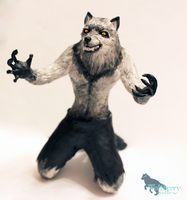 Werewolf: transformation by WolfberryCrafts