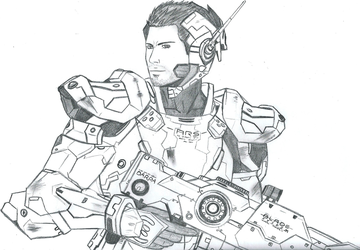 Future Soldier by LightExorcist