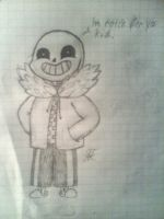 Sans the skeleton (Undertale) by Margo24