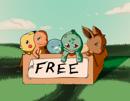 Free to a Good Home by Emberra555