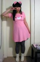 Gloomy Bear dress by bethanyagogo