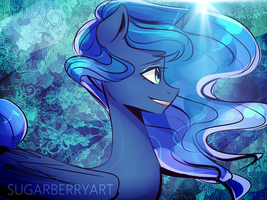 Luna by SugarberryArt