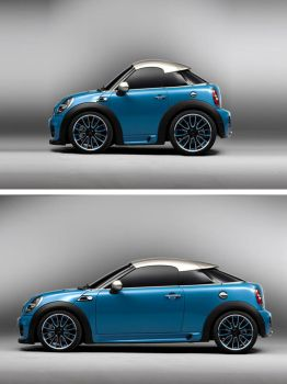 Photoshop super mini car by Giallo86