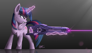 Sharpshooter Twilight by Duskie-06