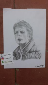 Marty Mcfly /Michael J Fox by cher-o-kee