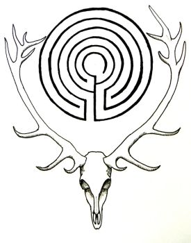 Labyrinth Stag by Iolair01