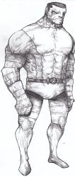Colossus by mf-jeff