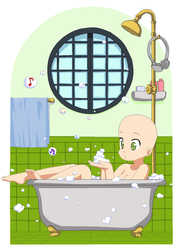 Bubble Bath Base by TigerPrincessKaitlyn