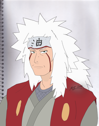Jiraiya Sensei (colored) by xxxMR-LEGOxxx