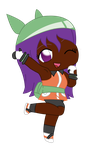 Chibi Emerald Eliyora by DBurch01