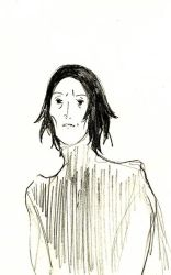 Severus Snape by mneomosyne