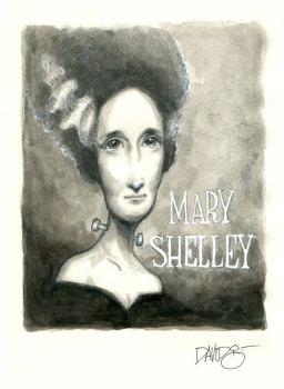 Mary Shelley by Disezno