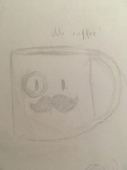 Mr Coffee by Temmious