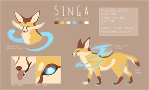 Singa Reference Sheet [2017] by Singarl