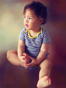 Portrait of a Boy by missuskisses