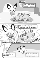 Selphy, the little Pichu (Pg. 4) by selphy6