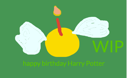 HAPPY BIRTHDAY HARRY POTTER-2018-WIP by Mairelyn