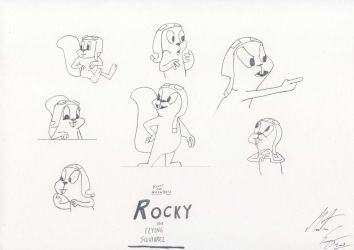 Rocky the Flying Squirrel. 2 by MortenEng21
