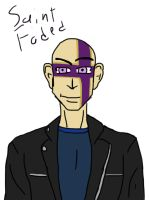 Quick sketch: saint faded by Fadedsaint