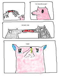 The Shittiest MS Paint Comic Ever Made Page 1 by Woofs-Four-Ever