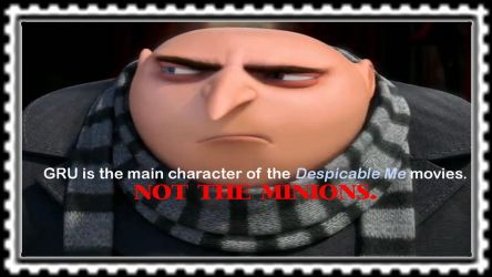 Gru Stamp by Michaelsar