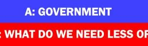 If the Answer is Government... by Conservatoons
