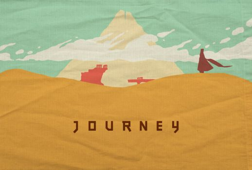 Journey - Minimalist Poster by edwardjmoran