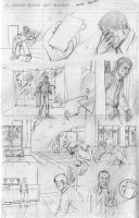 The End Issue 2 - 'Ladder' Page 2 Pencils by thescarletspider