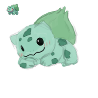 Pokesketch 001 Bulbasaur by Cdinorawr