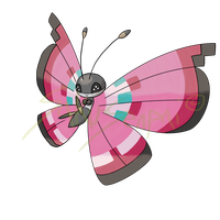 Vivillon (w/ Speed Paint link)