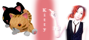 [MMD] Kitty DL by JoanAgnes