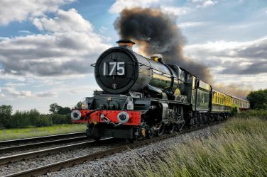 GWR 6024 King Edward by wildbunchz