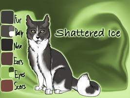 Shattered Ice of RiverClan - Moth Flight's Vision by Jayie-The-Hufflepuff