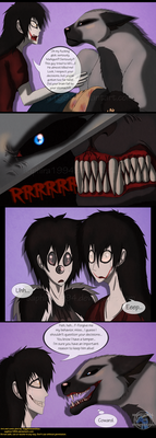 Adventures With Jeff The Killer - PAGE 107 by Sapphiresenthiss