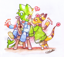 PKMNC - Our Song by TamarinFrog