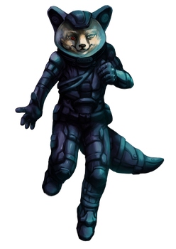 Alpha Lupi (spacesuit ver.) by Tymkiev