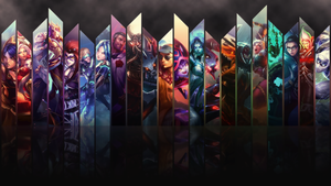 League of Legends Wallpaper/Panel Art by Wishlah