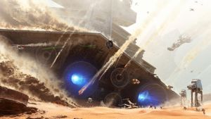 Battle of Jakku - [NO TEXT] by 3Demerzel