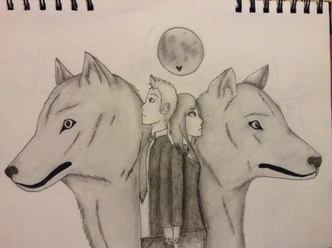 Maddy and Rhydian by iheartanime14