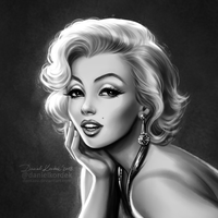 Marilyn Smile by daekazu
