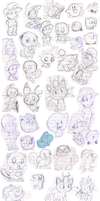 Doodles 14 by Nintendrawer