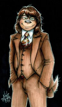 Brown Suits Him by Phraggle