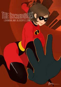 The Incredibles - Elastigirl by lokmanlam