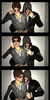Mercers in the Photobooth by NevanAnxa