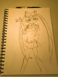 Sailor Moon    (WIP) by Patrony