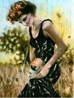 Persephone and the Bees by NCEART