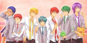KuroBasu: ties by Annciel