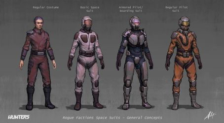 Hunters - Space Suits Roge GC by AlfDsz