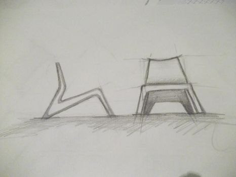 Furniture Sketch 7 by cihanYILDIZ