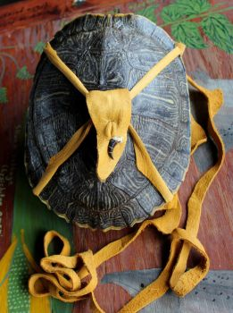 Turtle Shell Pouches! by lupagreenwolf